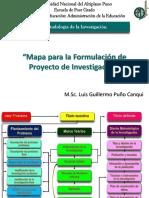 Mapa Para Formulación de Proyecto de Investigación Aamr (1)