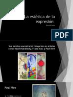 Estética de la expresión