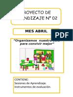 proyecto N 2  - organizamos el aula.docx