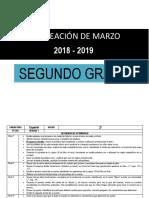 2° Planeacion de marzo - 2do Grado 2018-2019 (1).docx