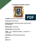 TAREA DE SOCIOLOGÍA ORGANIZACIONES.docx