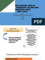 Perbentangan Kerja Kursus Tamadun Islam Dan Tamadun Asia