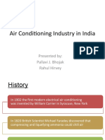 Air Conditioning Industry in India