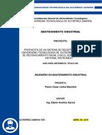Propuesta de Un Sistema de Registro de Acceso a La Universidad Tecnológica de Gutierrez Zamora a Través de Reconocimiento Facial Con El Software Labview de National Instrument