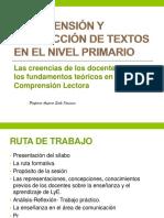 Actualizaciòn Pedagogica Comprension Lectora.nivel Primaria Pptx