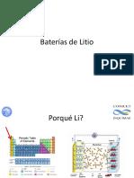 Baterías de Litio2A