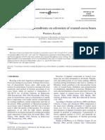Efecto del secado en la acidez y el contenido de acidos grasos Jinap 1994