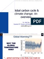 16.02.2017Global Carbon Cycle and Climate Change Dr. Arijit Roy