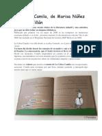 La Cebra Camila, de Marisa Núñez y Óscar Villán.docx