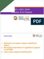 ISO 14001 EMS Aspect Training
