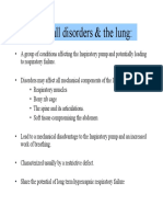 Chest wall disorders