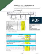 Copy of Pegi Okta Nuryana-5150811110-ANALISIS STRUKTUR JEMBATAN.xls Asistensi-1