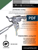 PHQ220 Anti Vibration Jackleg