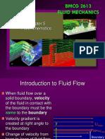 BMCG 2613 - CHAPTER 5 Fluid Kinematics