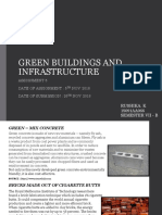 Green Buildings and Infrastructure
