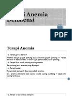 Terapi Anemia Defisiensi