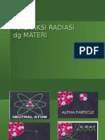 0b.interaksi Radiasi Dg Materi