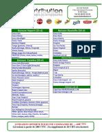 Catalogue LTS distribution