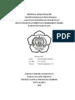 Proposal Kerja Praktek Dinas Lingkungan Hidup dan Kebersihan.docx