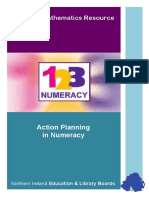Action Planning in Numeracy