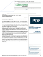P&G Readies Its Supply Chain for a _VUCA_ World – CSCMP's Supply Chain Quarterly