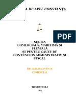 Sectia comerciala - Decizii relevante trimestrul I 2011 - Comercial.doc