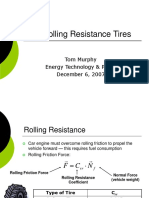 Low Rolling Resistance Tires PRES