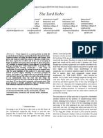 IEEE Paper the Yard ROBO
