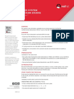 Exam Objectives - Red Hat Certified System Administrator Exam (EX200v7) Objectives