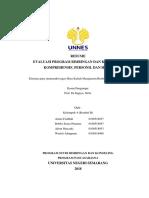 Resume Evaluasi Program Bimbingan dan Konseling Komprhensif, Personil dan Hasil.docx