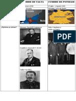Cumbre de Yalta y Potsdam