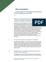 Public Consultation OSI Q&A