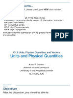 Units and Physical Quantities P71 (Cometa)