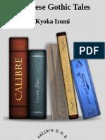 Izumi Kyoka - Japanese Gothic Tales