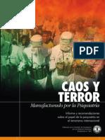 Detrás del terrorismo