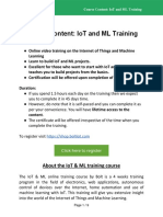 CourseContent- IoT and ML Training Bolt IoT With CTA 1