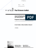 Technical paper on RO and water chemistry