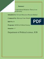 Khawaja Umar Summary IR.docx