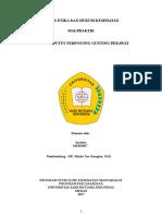 Tugas Malpraktik Azriana 160101067