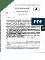 5th CCS PT General Studies-II