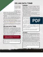 Shadowrun - Delian Data Tomb (Adventure)