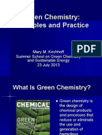 Kirchhoff Green Chemistry Principles and Practice2