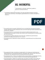 Taxonomía Del Documental