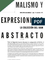 Informalismo y Expresionismo Abstracto - Colección del IVAM