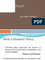 Dividendpolicy 110920030213 Phpapp01 Converted