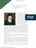 Entrevista com Irene Granchi, a grande pioneira da pesquisa ufológica no Brasil.