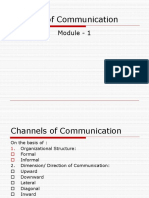Patterns of Communication