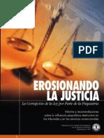 Erosionando la Justicia