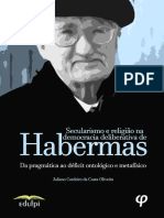 Secularismo e religião na democracia deliberativa de Habermas - Juliano Cordeiro da Costa.pdf