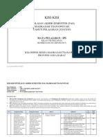 Kisi-Kisi IPS Kelas 8 PAS Tahun 2018-2019.docx